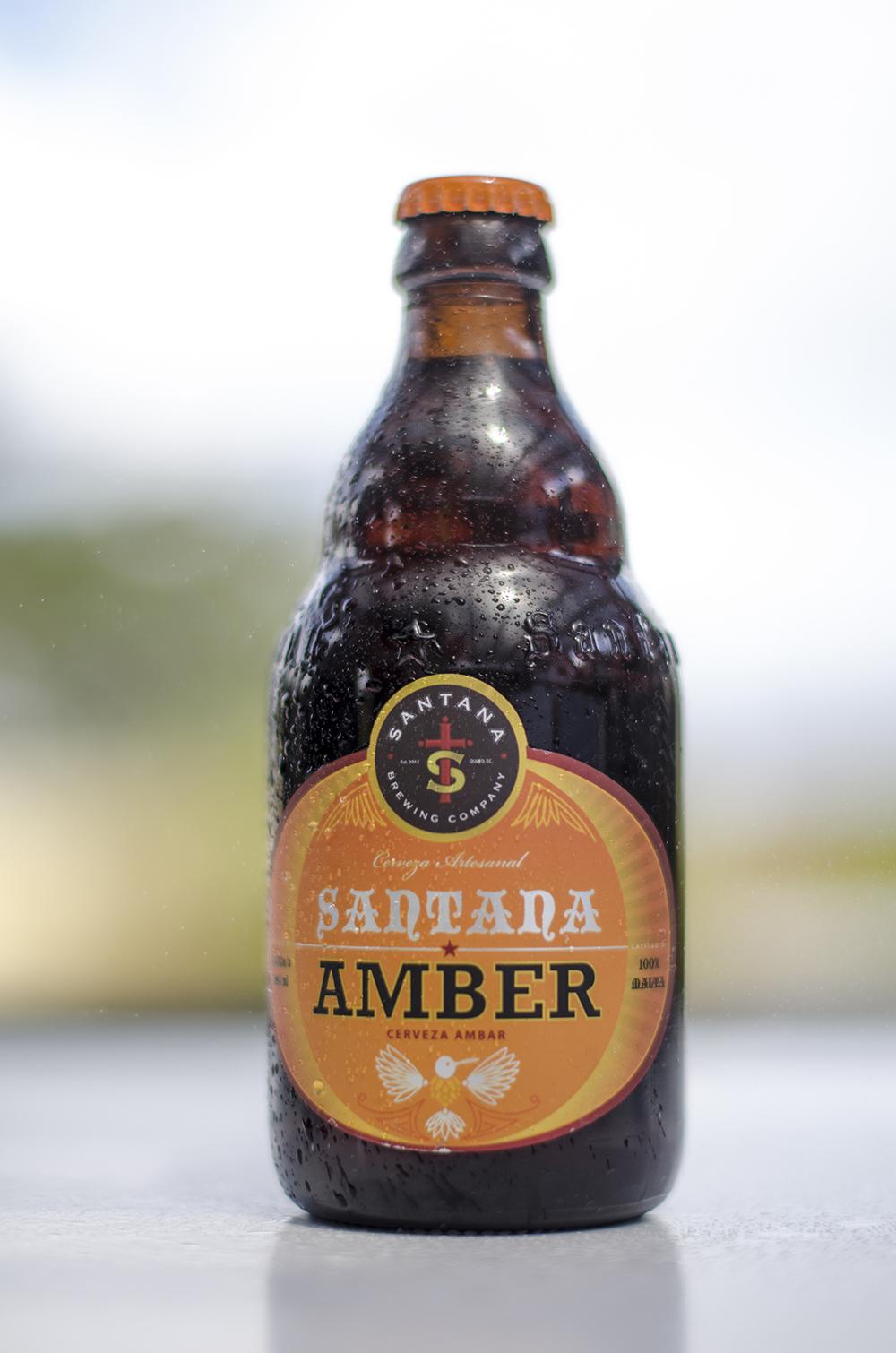 Santana Brewing Company   Amber  5,5%