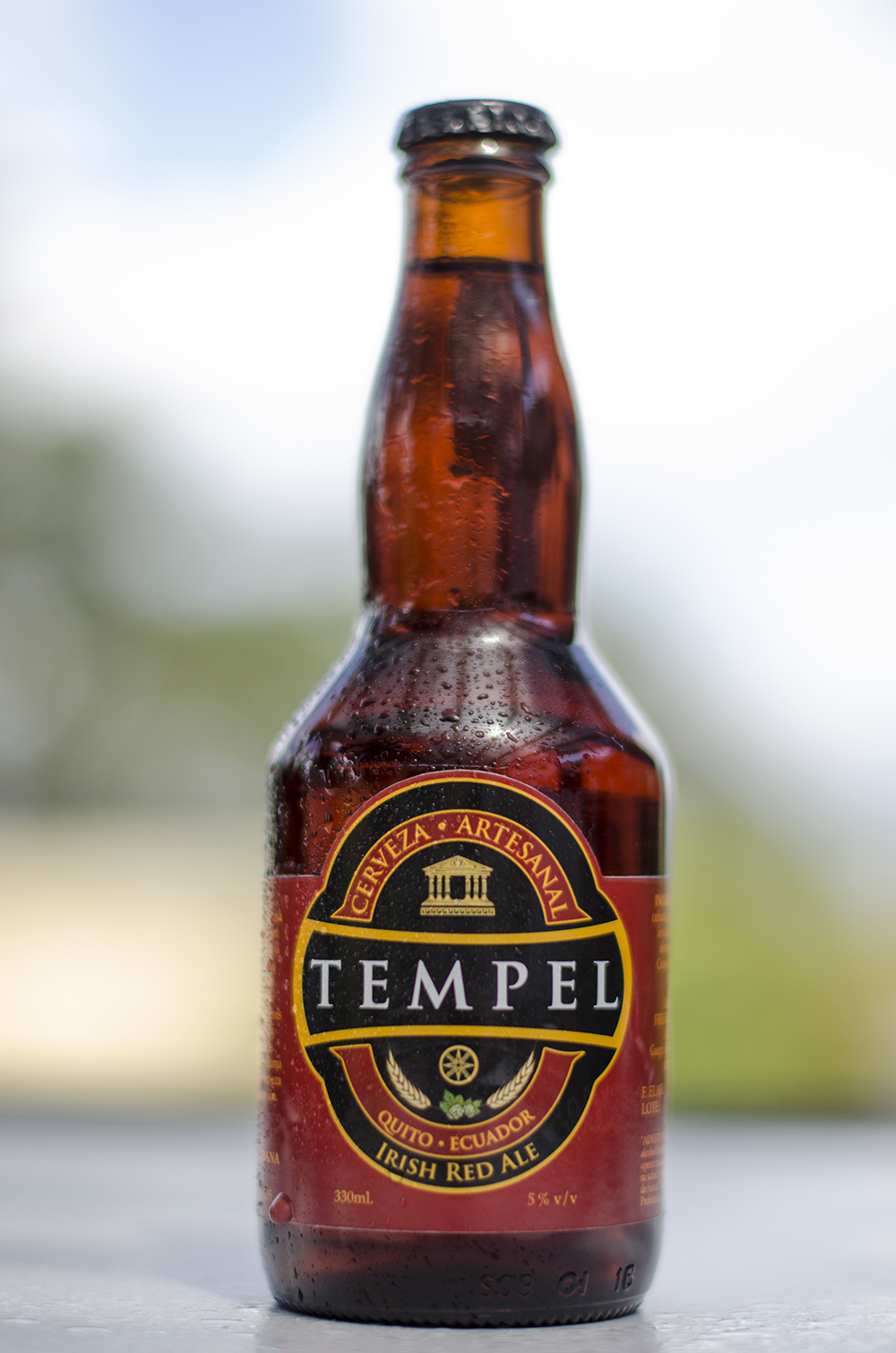 Cervecería Tempel   Irish Red Ale  5,0%