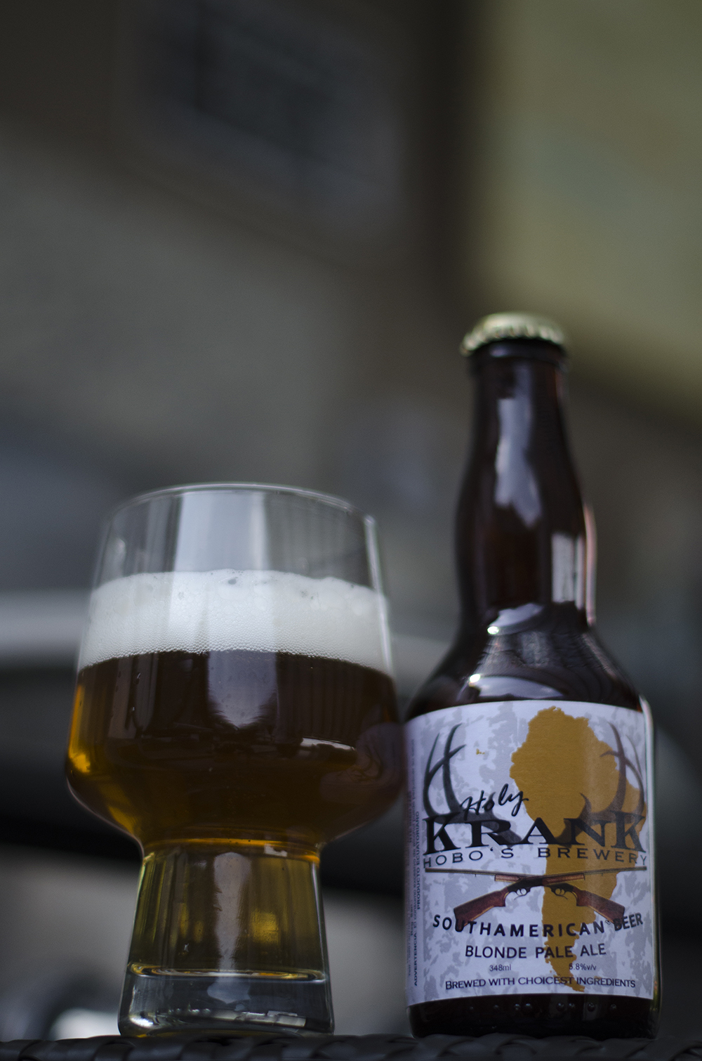 Krank Hobo's Brewery   Blonde Pale Ale  5,8%