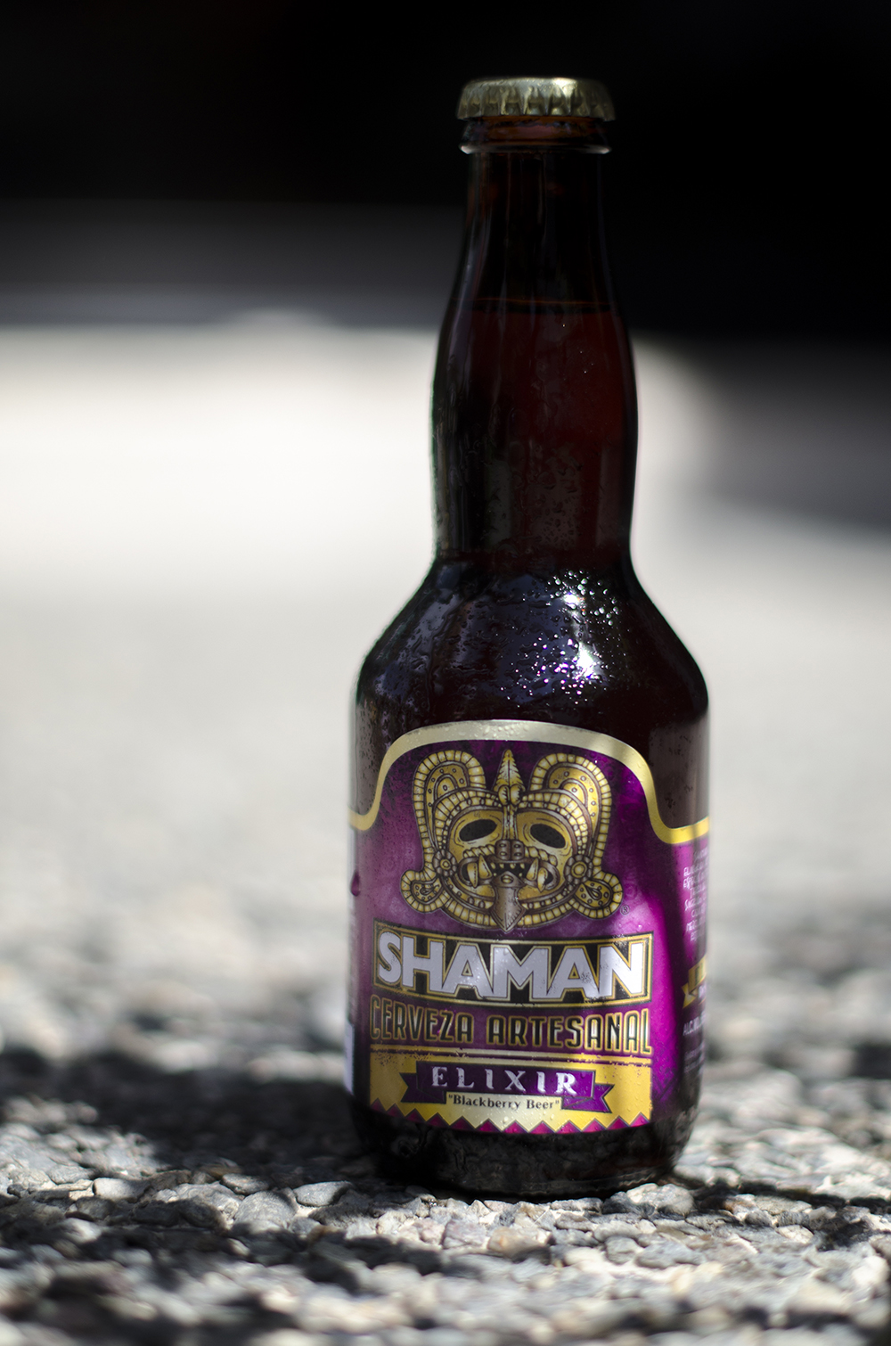 Shaman  - Elixir  Blackberry Beer  6,6%