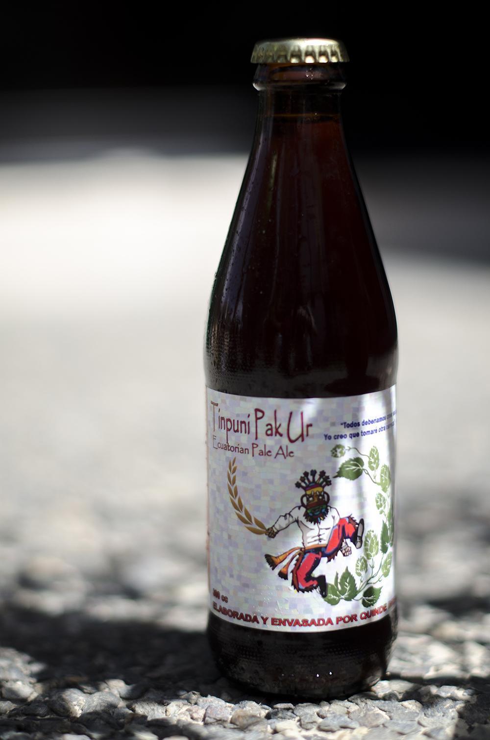 Quinde Brewery  - Tinpuni Pak Ur  Red Ale Horchata  6,1%