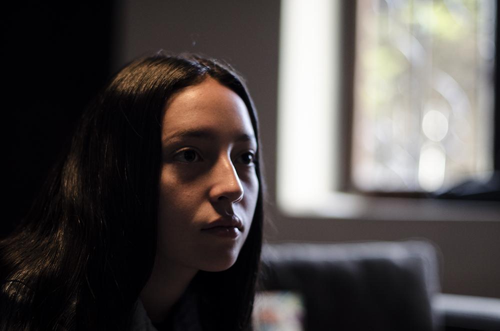 Macarena Arias, protagonista de  Alba .
