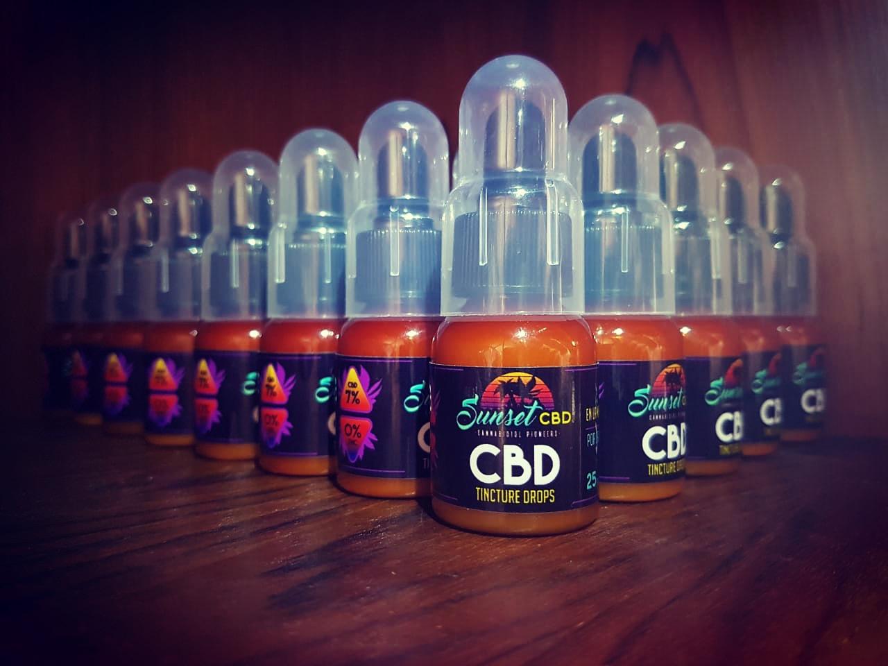 CBD Sunset Cannabis