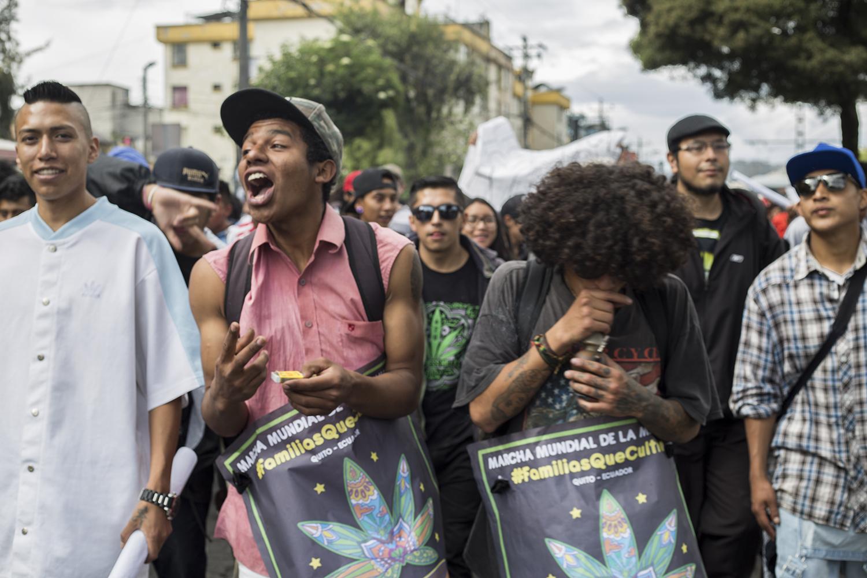 Marcha Marihuana 2019 - fumones