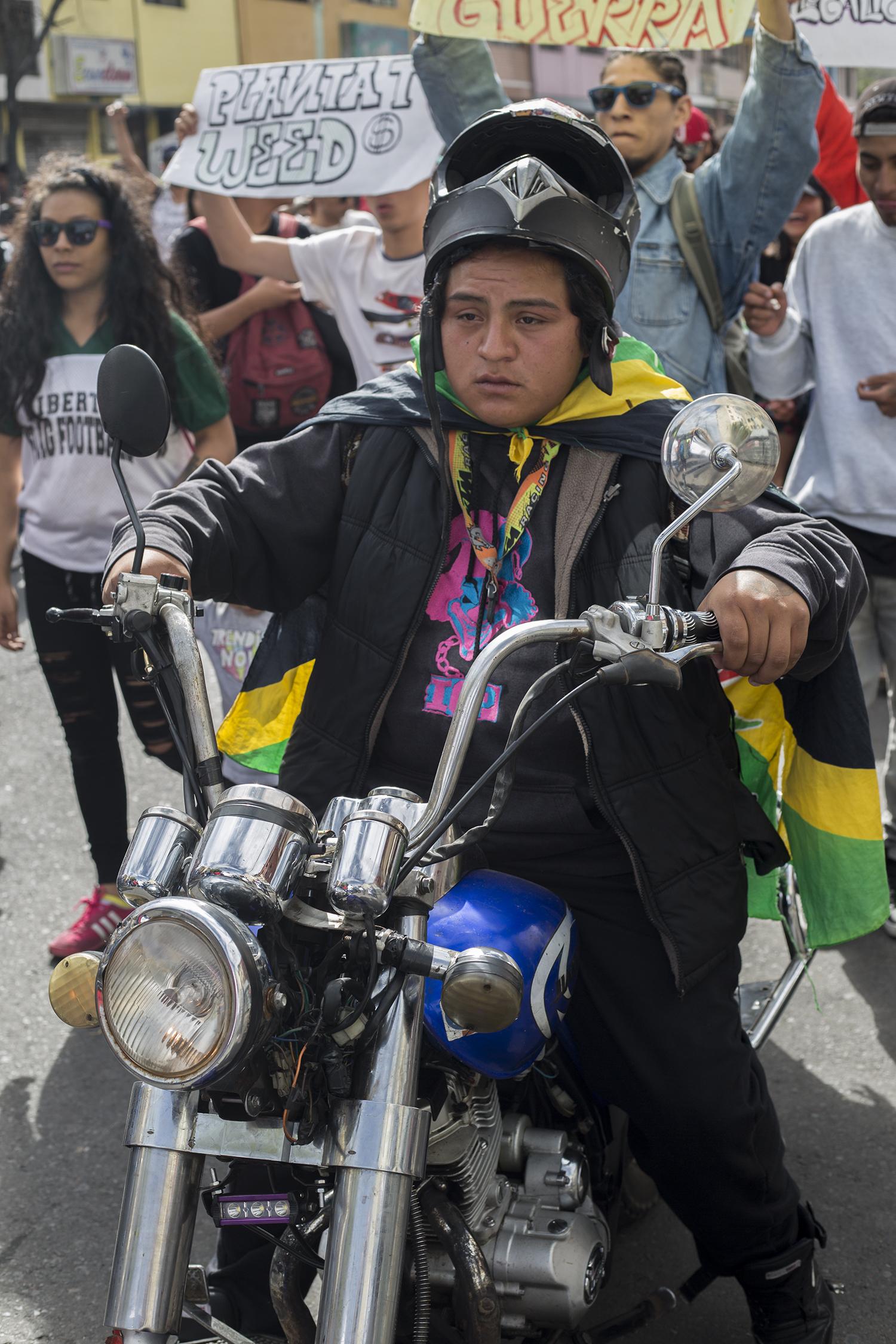 Marcha Marihuana 2019 - moto