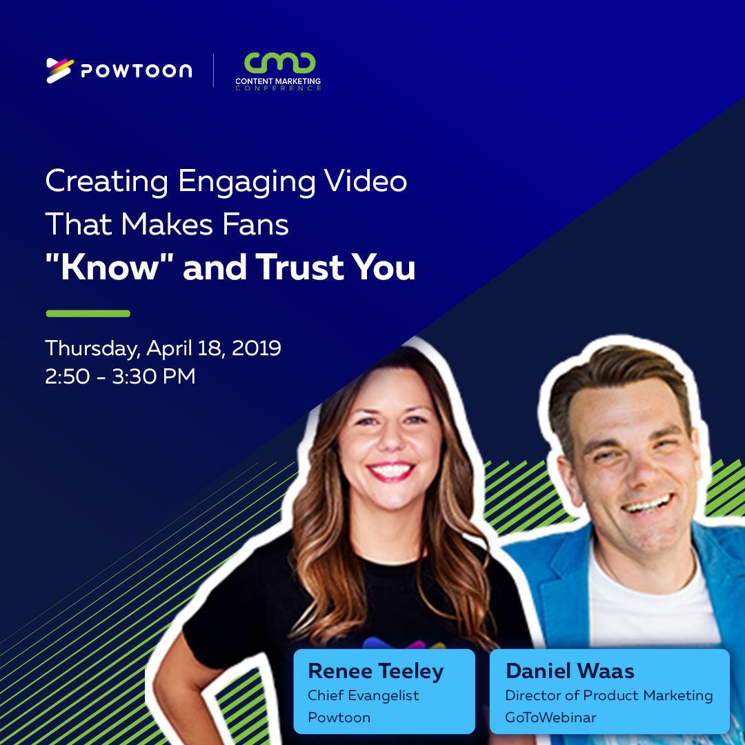 Session: Creating Engaging Videos to Earn Trust