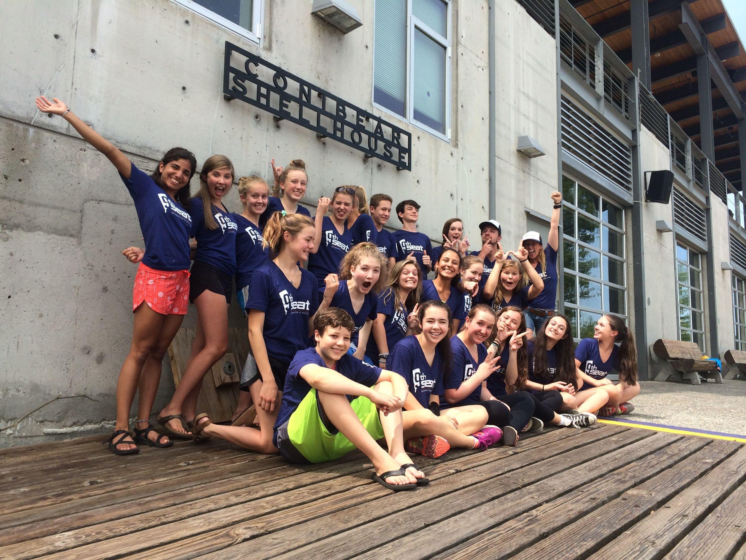 Week 1: Coxswain Leadership Camp 2015