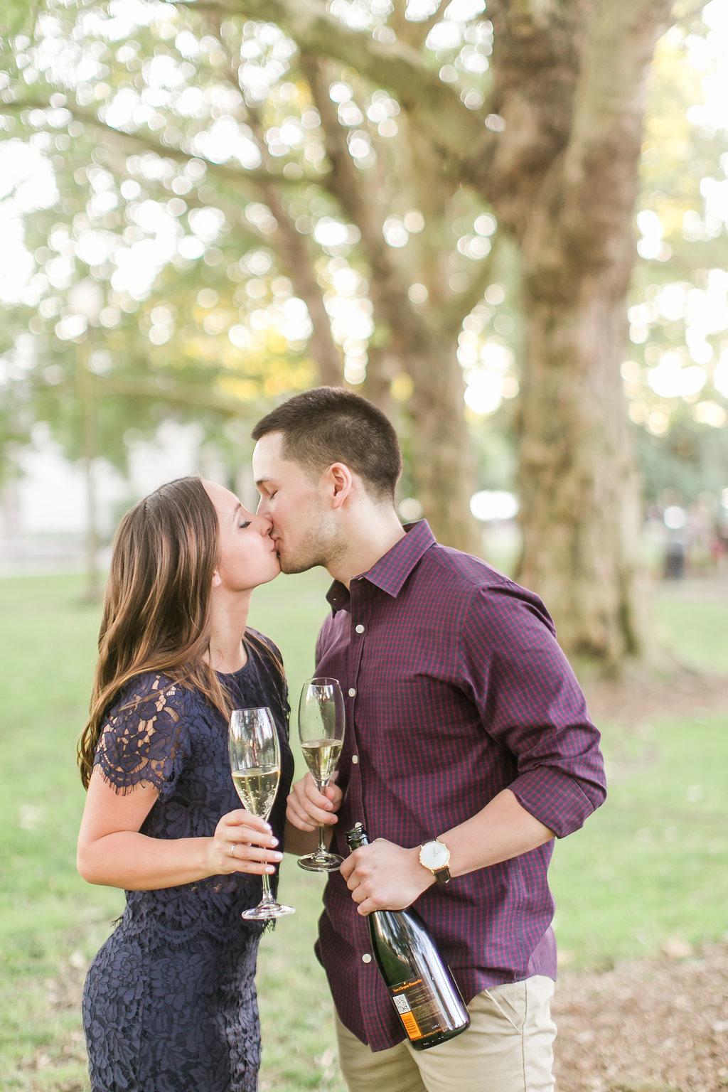 Seattle Engagement Session at Greenlake | Wedding Wise Seattle Planning | Lloyd Photographers