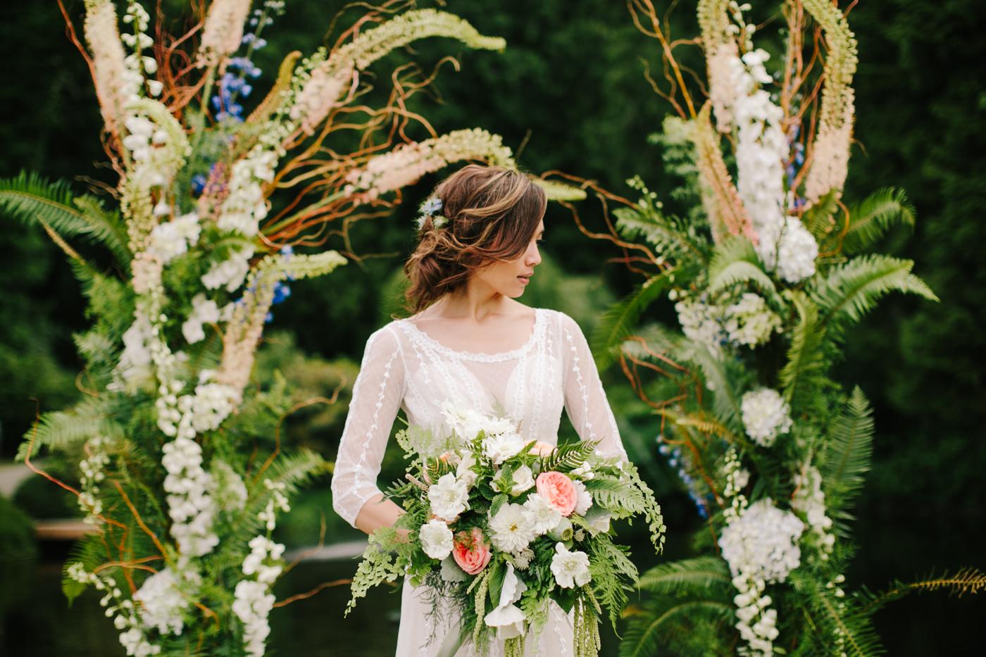 Seattle Wedding Planner | Wedding Wise | Kelley Lemon Photography | Pantone Color of the Year 2017 Greenery
