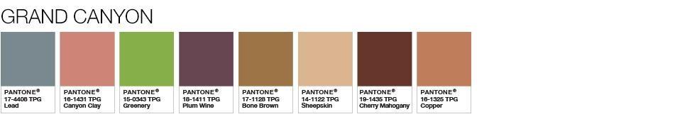 Wedding Wise, Seattle Wedding Planner   2017 Pantone Color Palette