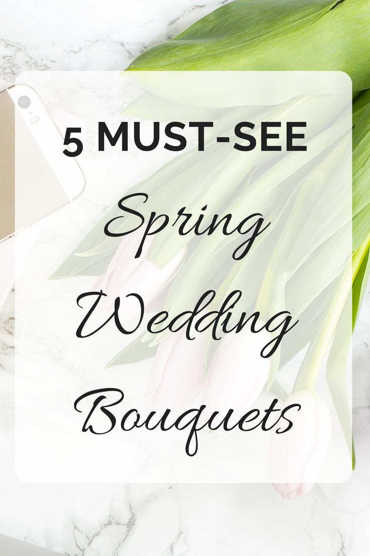 5 MUST-SEE Spring Wedding Bouquets | Seattle Wedding Planner | Wedding Wise