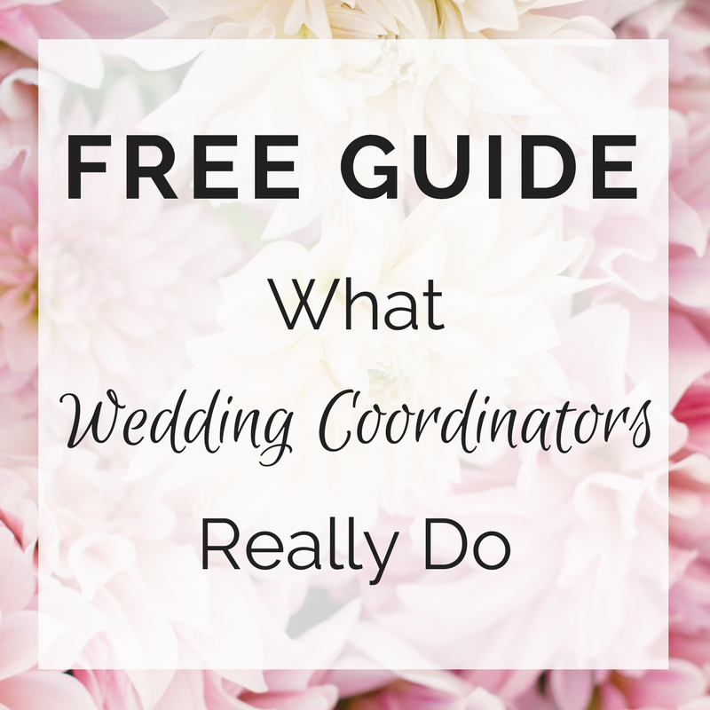 Free guide - what wedding coordinators really do