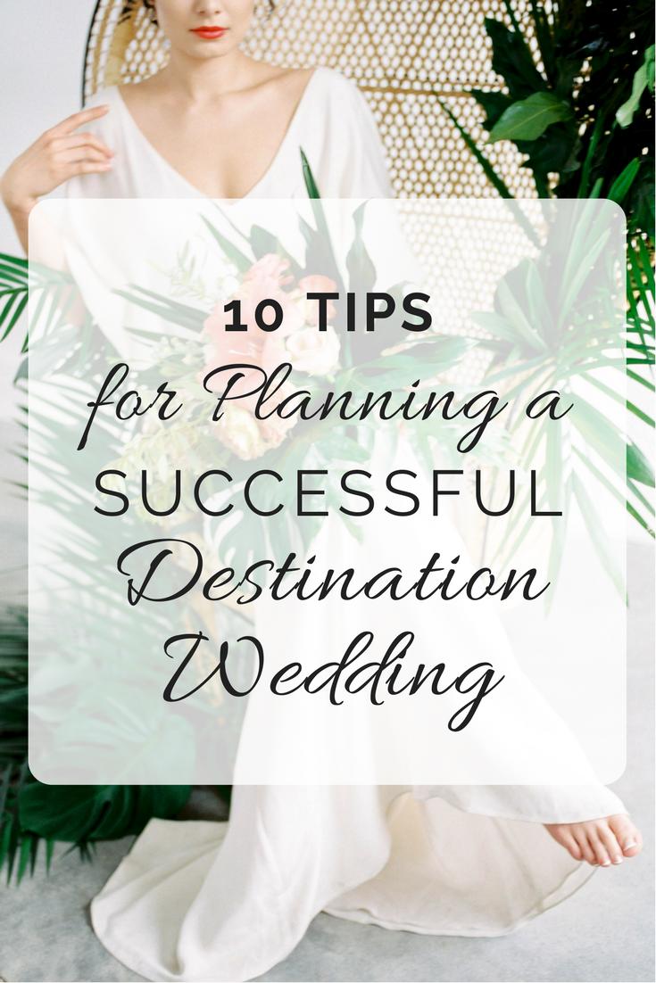 10 Tips for Planning a Destination Wedding | Wedding Wise Seattle Wedding Planner