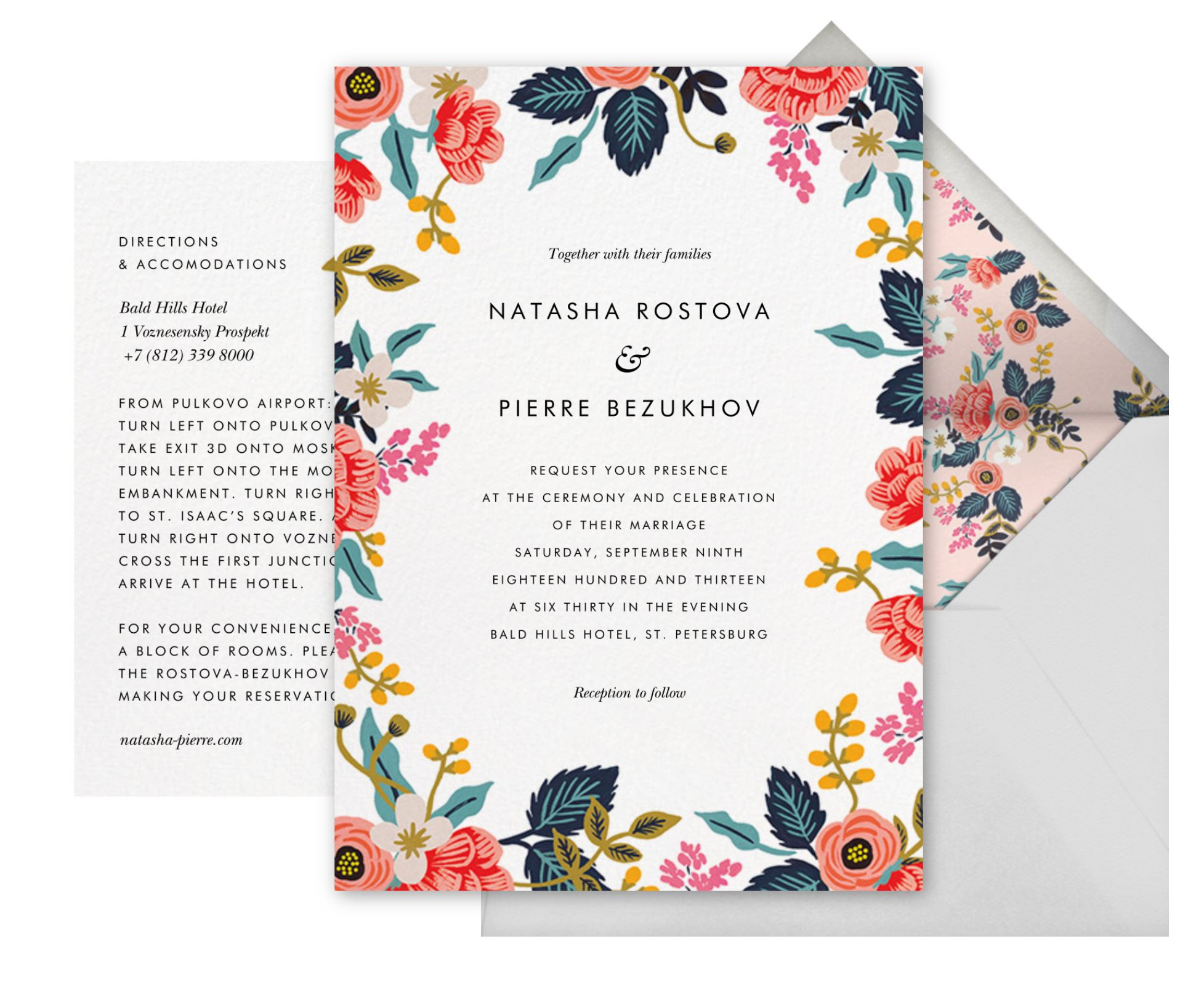 Paperless Post Digital Wedding Invitation | Wedding Wise | Seattle Wedding Planner