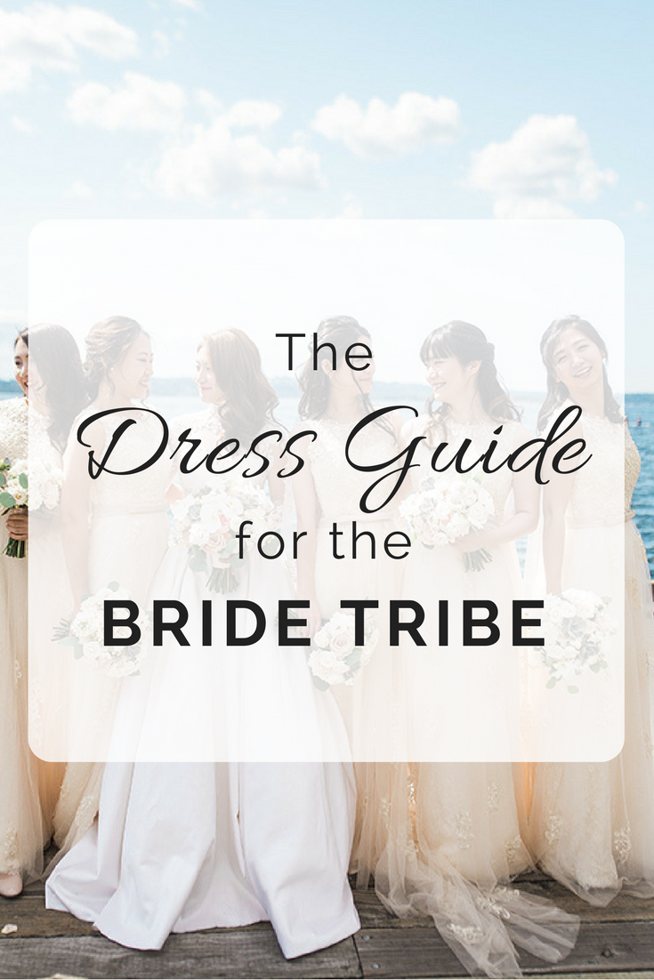 Bridesmaids Dresses Guide | Wedding Wise | Seattle Wedding Planner | B. Jones Photography