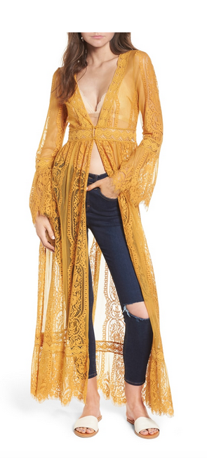 Dream Sleeves - My mustard kimono is back and I am beyond excited!