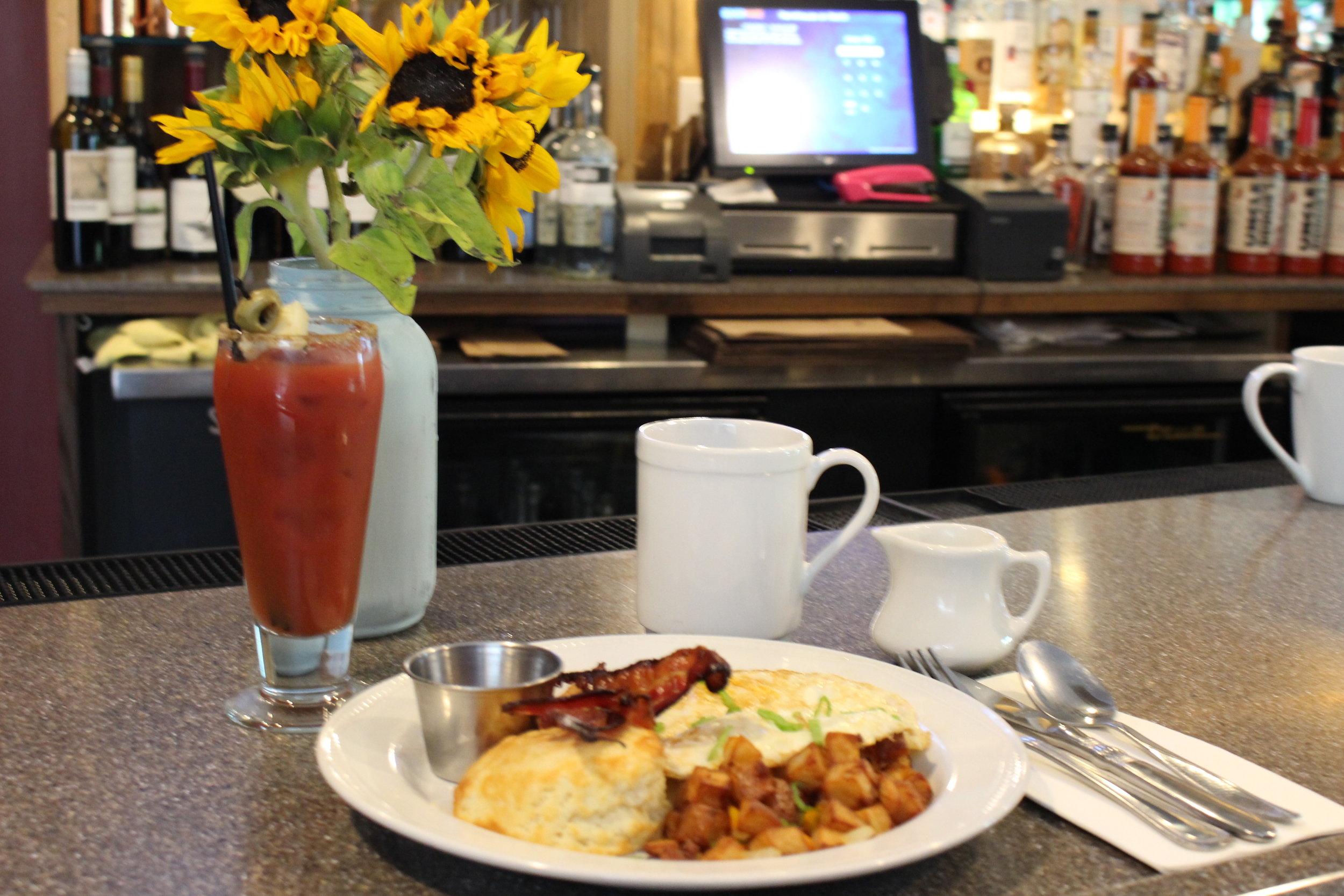 Farmhouse Breakfast & Mini Mary