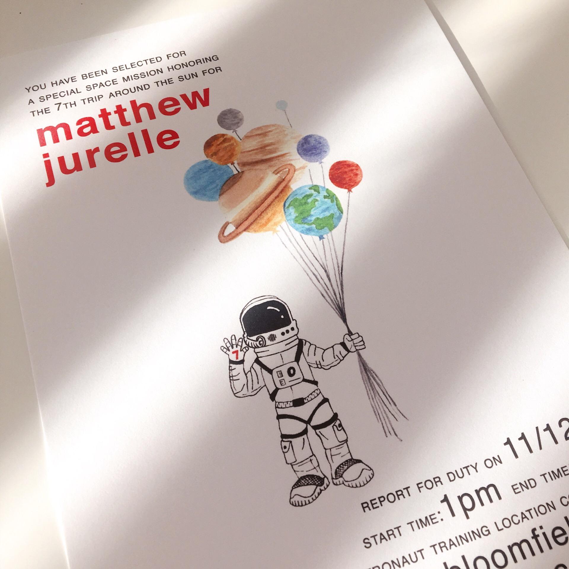 Solar System Astronaut Birthday Invitation.JPG