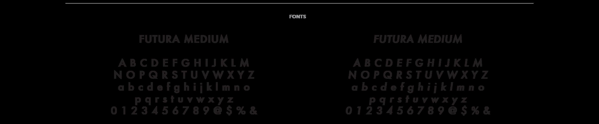 Futura Font for Modern Design
