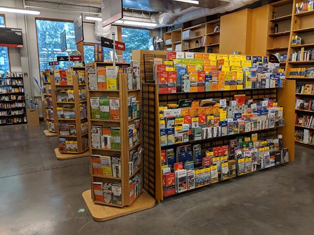 There's a whole section just for #maps at Portland's Powell's Books ❤️
