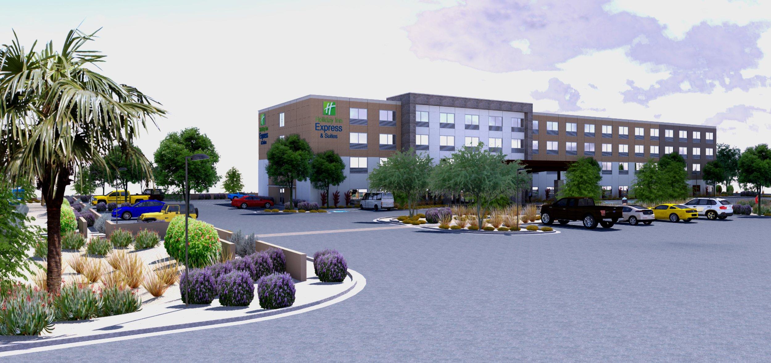 Renderings of Holiday Inn Express Phoenix