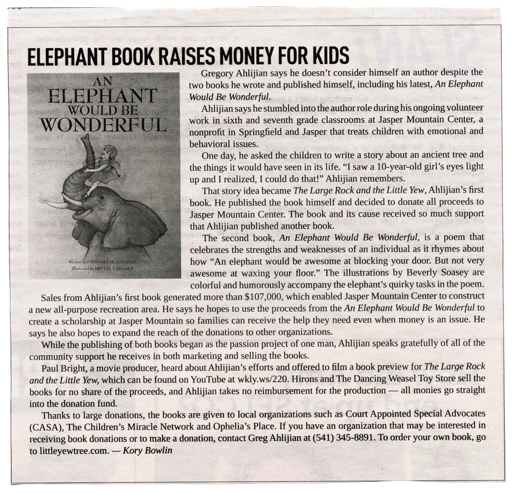 Greg-Ahlijian_Press051_An-Elephant-Would-Be-Wondeful_Eugene-Weekly-article.png