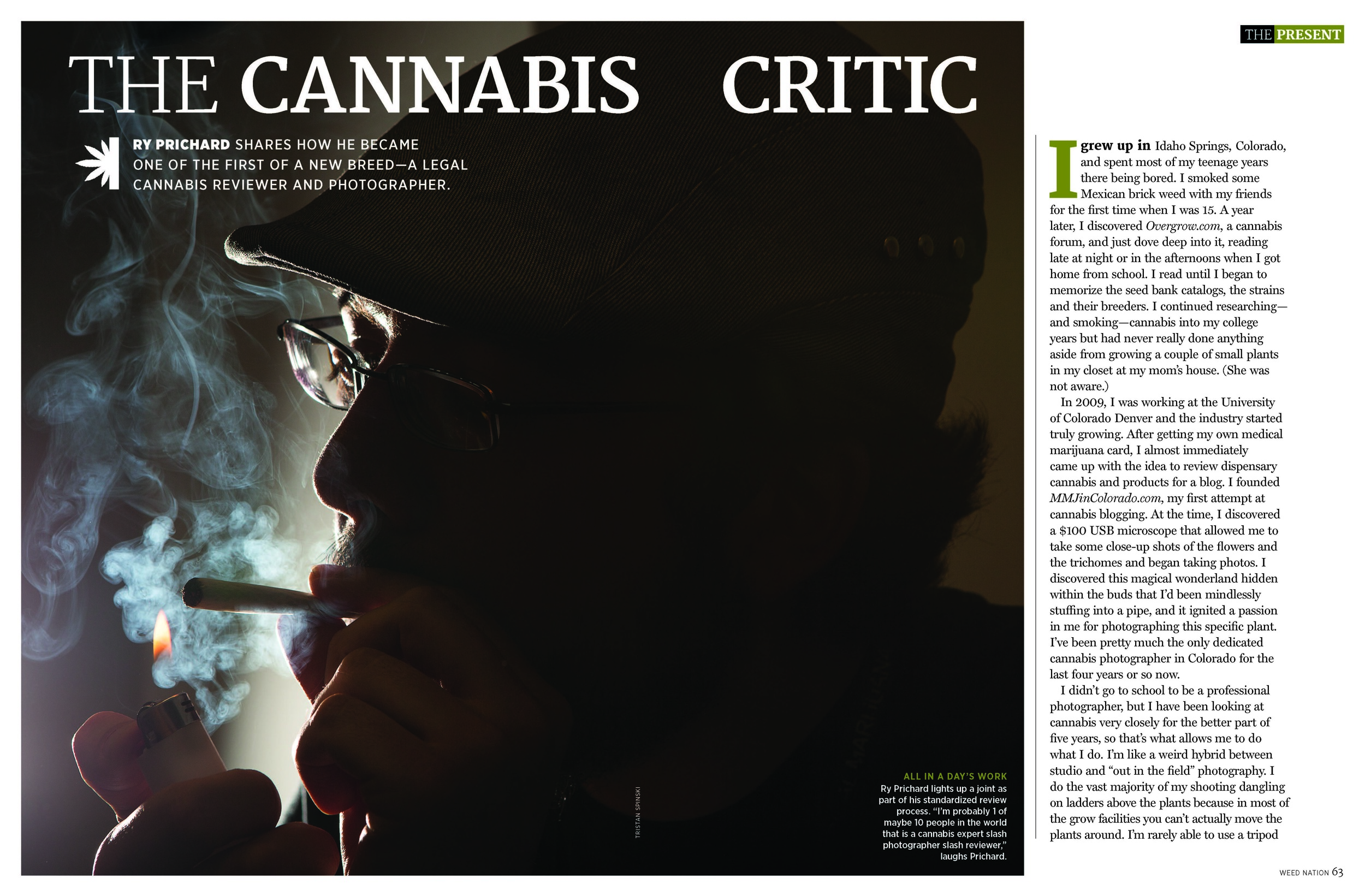 """Weed Nation: """"The Cannabis Critic"""" - Newsweek Special Edition, Feb '15"""