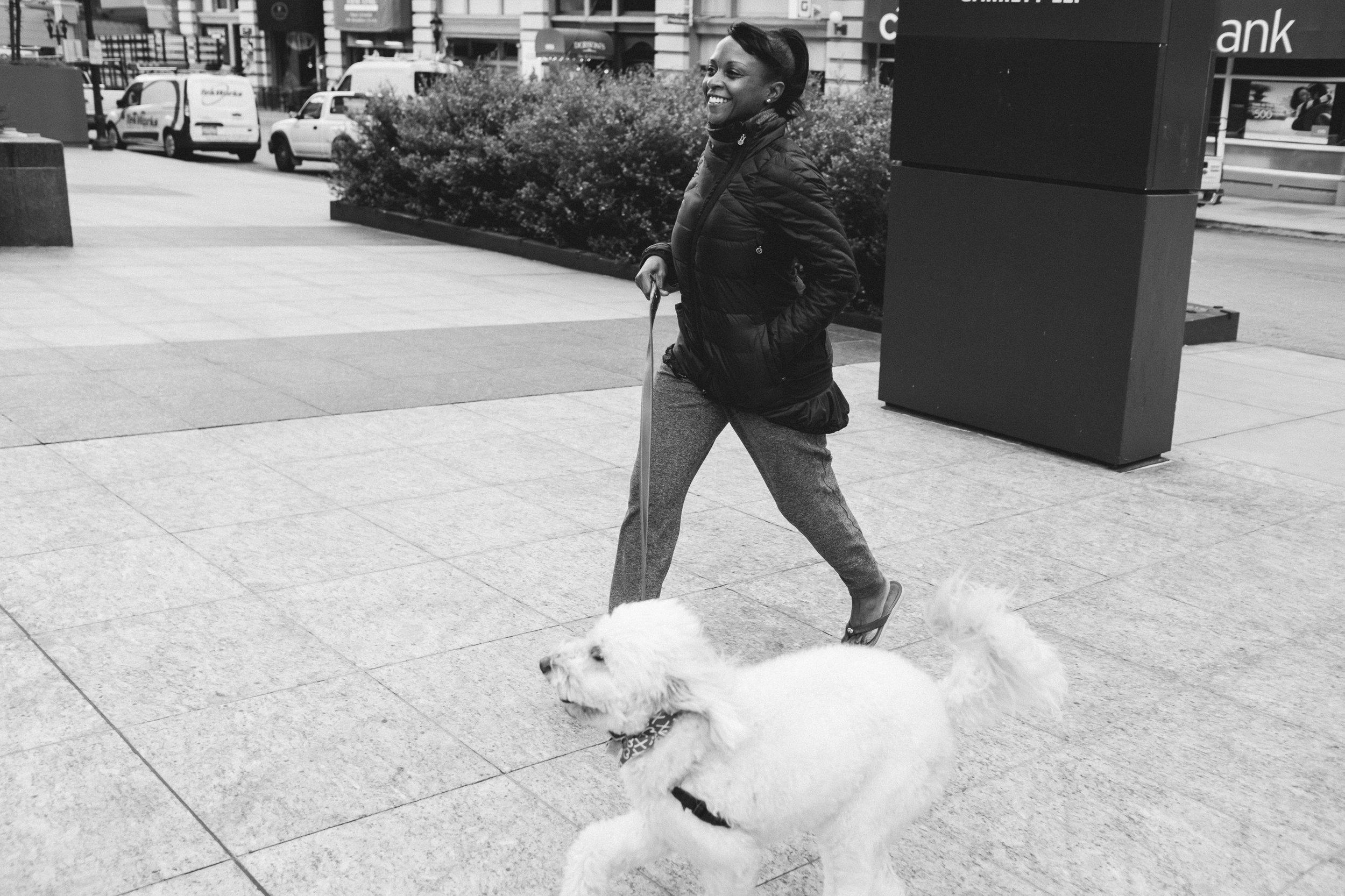 HAPPY AF WITH HER DOG.JPG