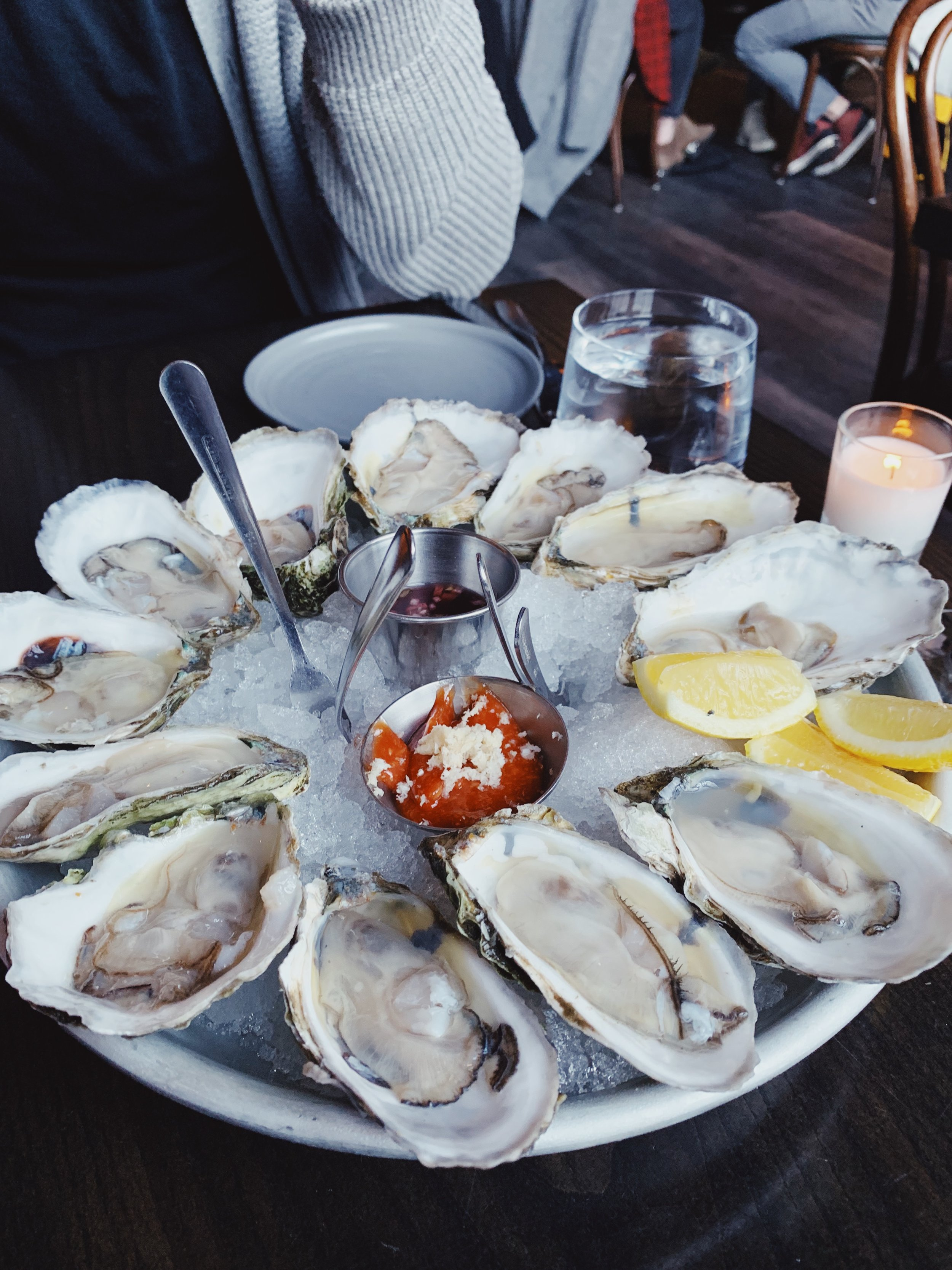 oysters on oysters