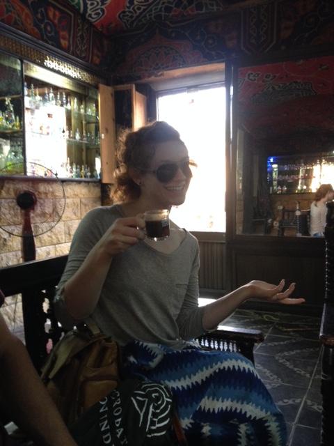 Anna and turkish coffee!