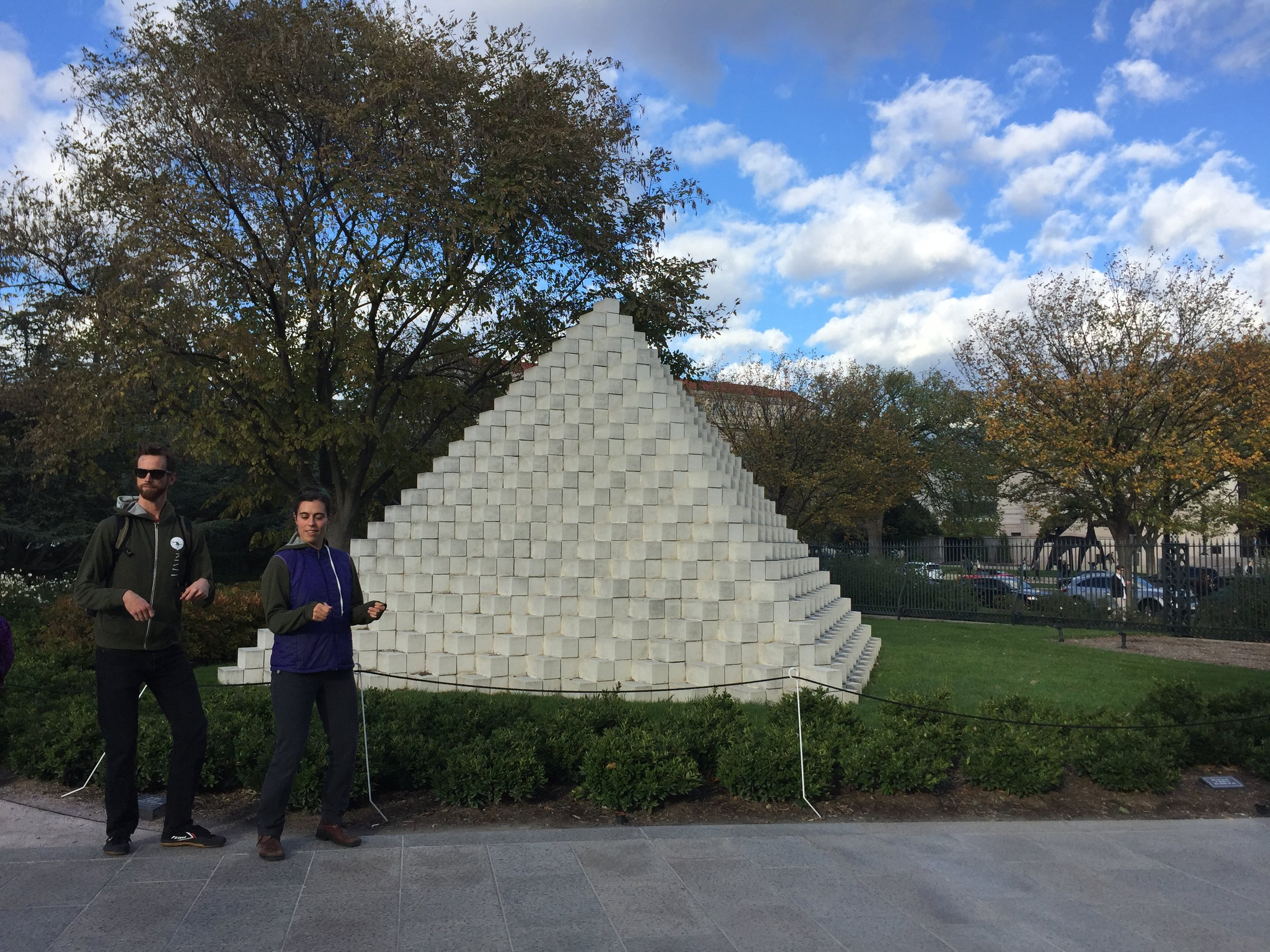 Every year on this date, Conundrum visits a pyramid.