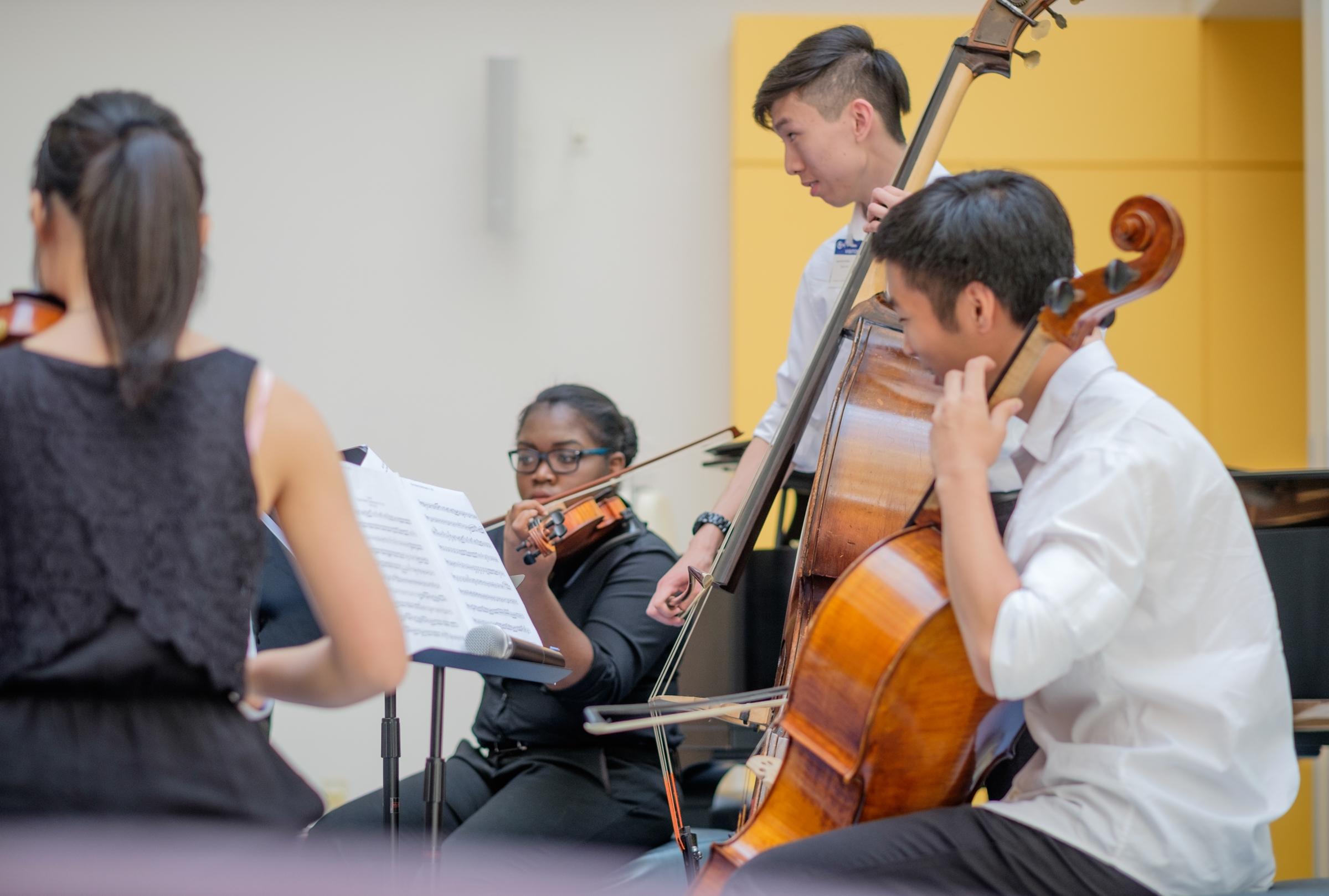 Mozart Chamber Ensemble at CHOP