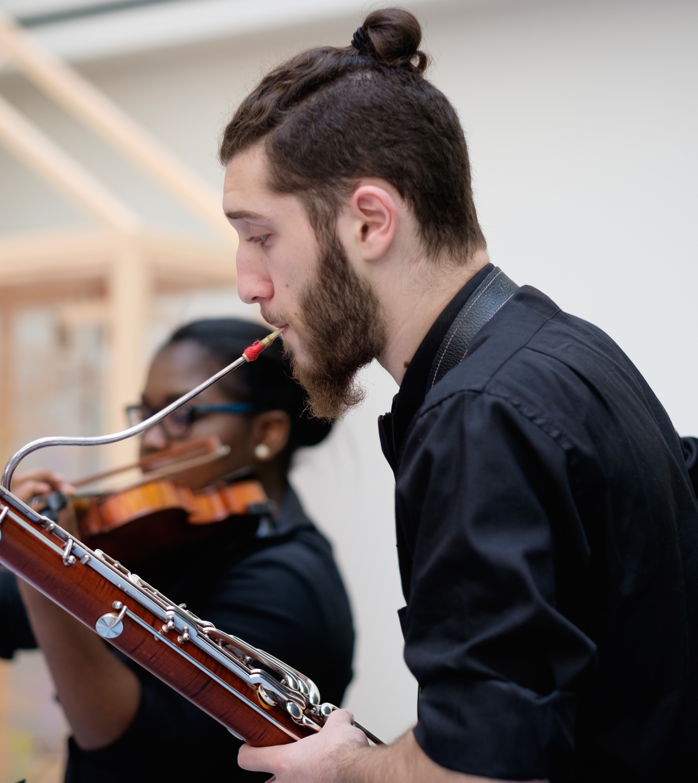 Dotan played in three chamber ensemble performances at CHOP., including a saxophone trio.