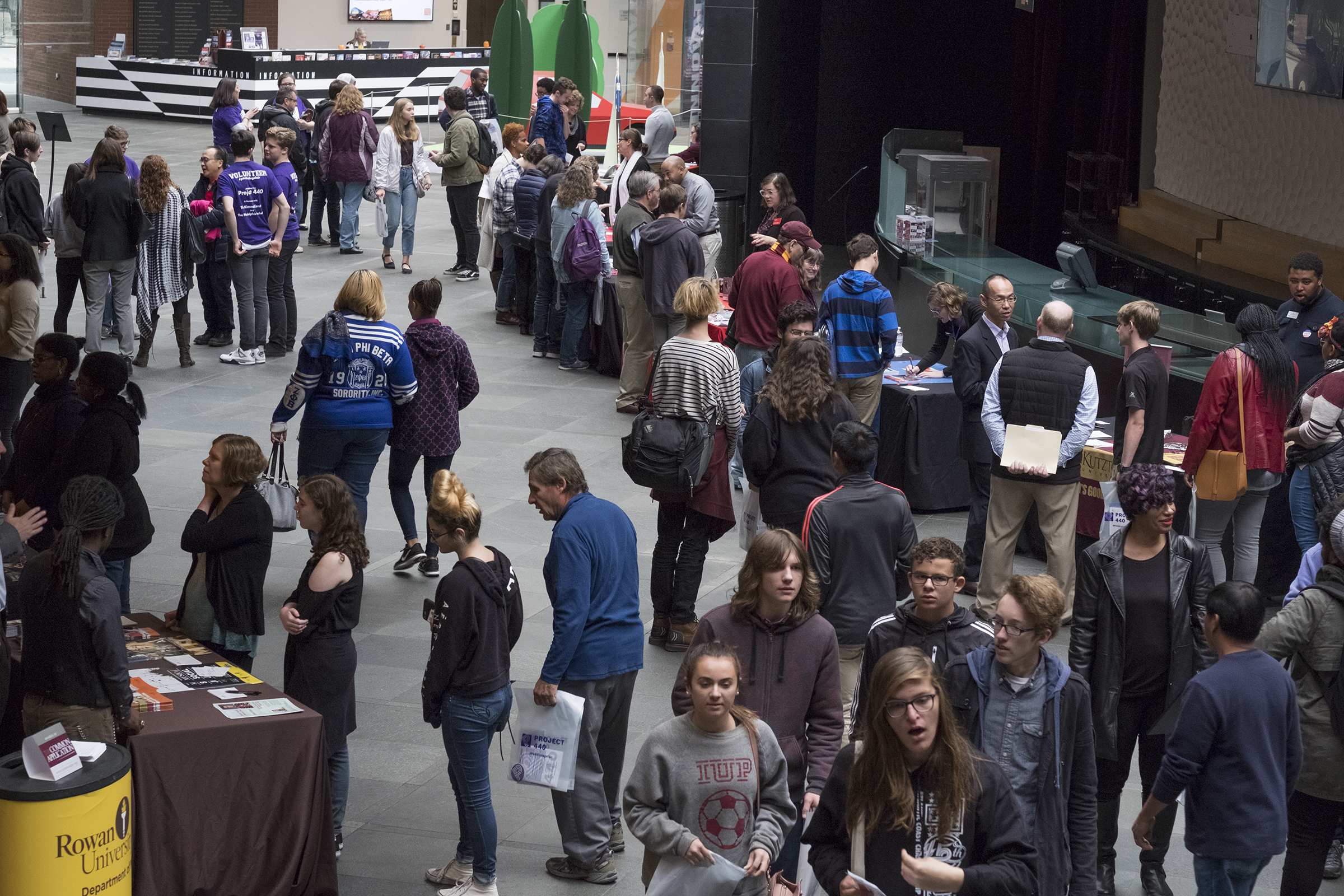 Project 440's College Fair for Musicians 2017