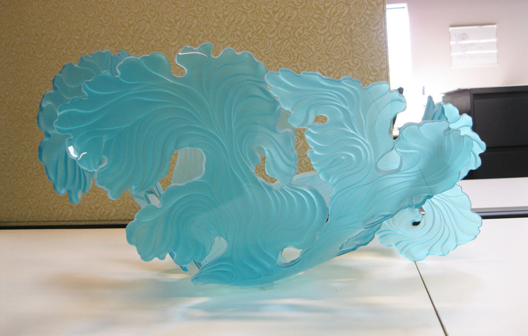 Pale Turquoise Seafan