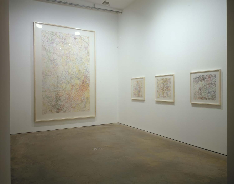 "Installation view of ""Ingrid Calame""  at  James Cohan Gallery, NY, NY 2005"