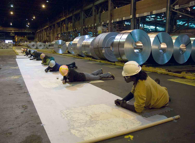 ArcelorMittal Steel Factory, Lackawanna, NY, 2008