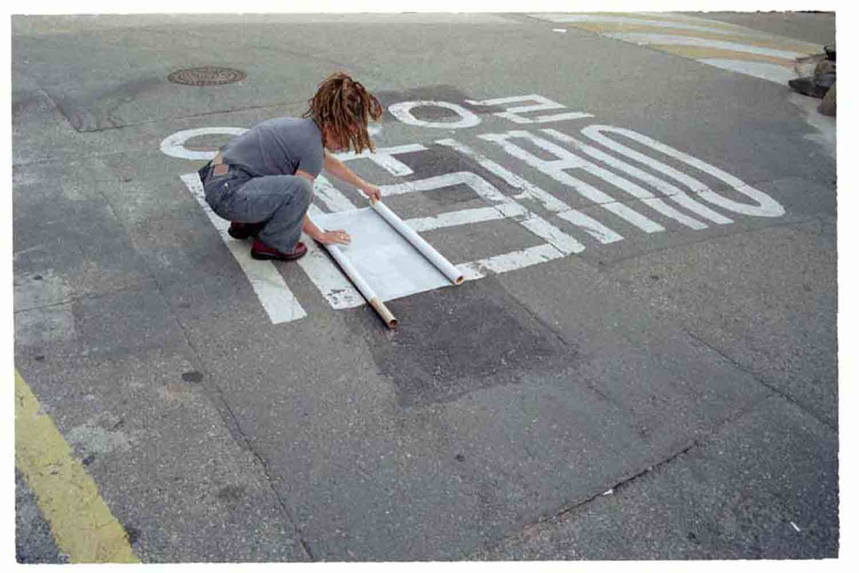 One Way Sign, Seoul, Korea, 2005