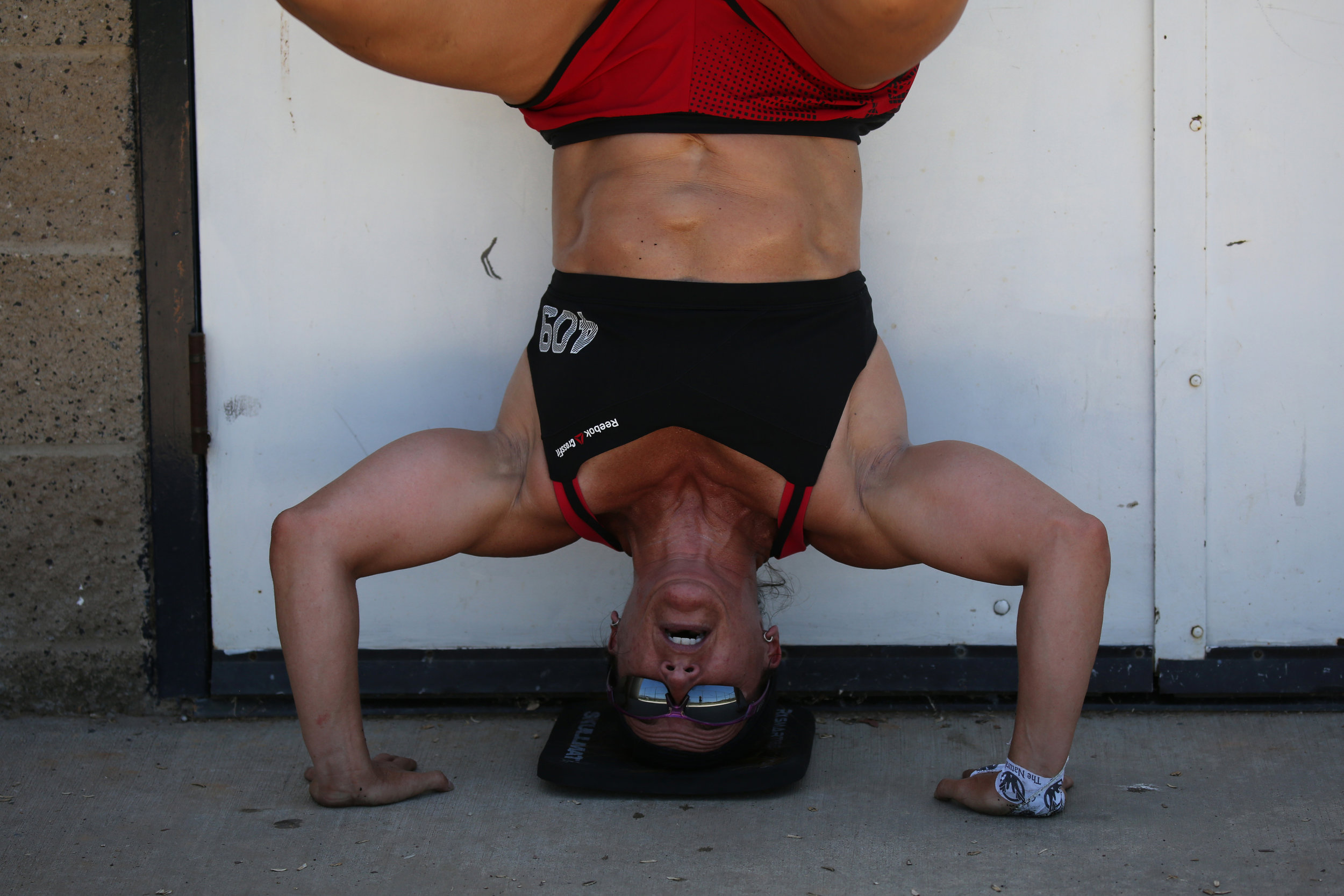 """A lot of top CrossFit athletes were high-level athletes in some sport. Obviously gymnastics is one where it translates to CrossFit very easily. There are a ton of gymnastics elements that I was good at right away because of my background."" © Gail Fisher for ESPN"