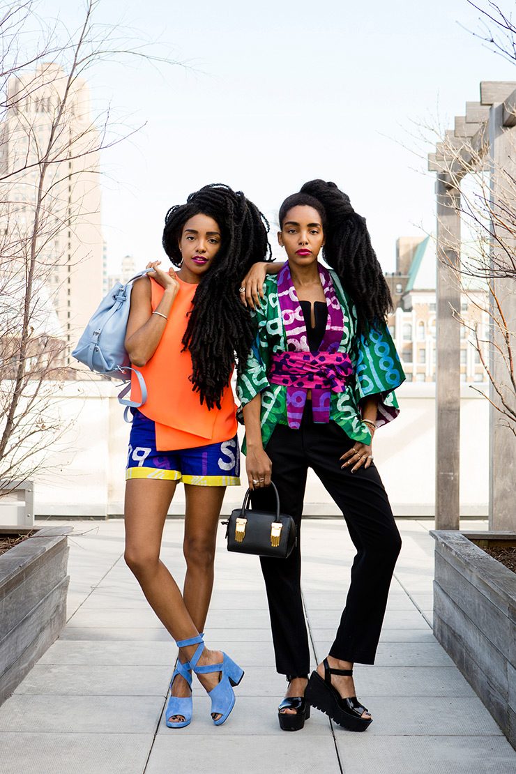 Fashion Against The Grain: The Quann Sisters