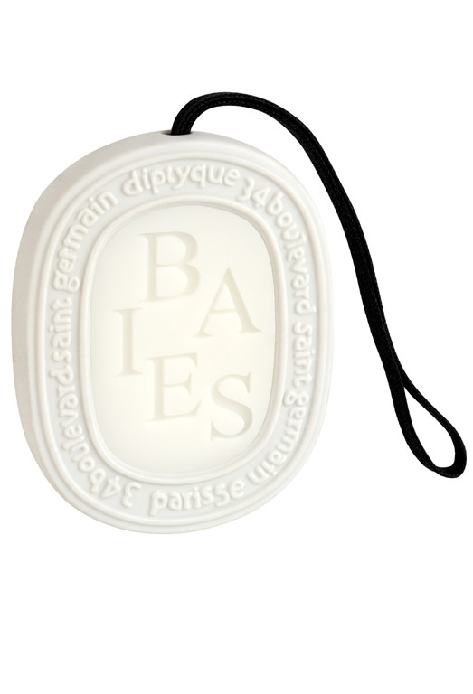 5. My  Diptyque Paris Baies Scent Oval  is just the perfect amount of scent to keep my bathroom filled with sublime.