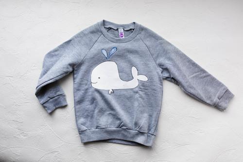 My Little Whale Sweatshirt
