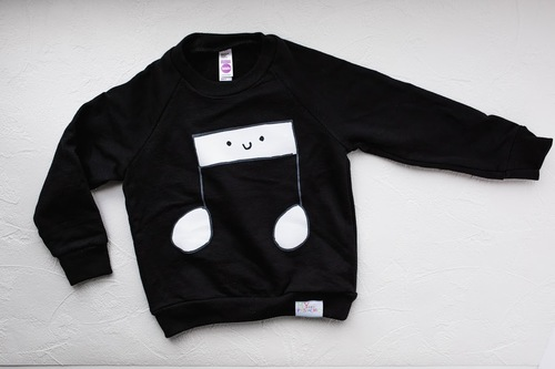 My Little Music Note Sweatshirt
