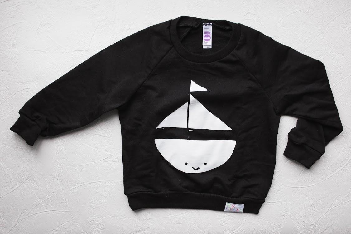 My Little Sailboat Sweatshirt