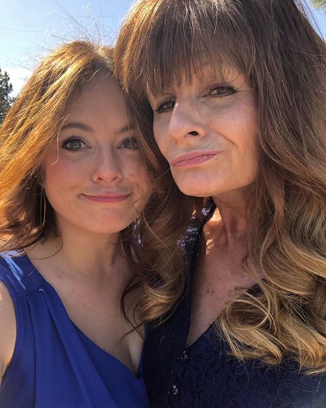 We unintentionally have the same hair color but intentionally have a lot of the same DNA and goofiness. As I age I'm twinning more and more with my Mama. I am thankful for these moments and the grace in our lives. I love you Mom.