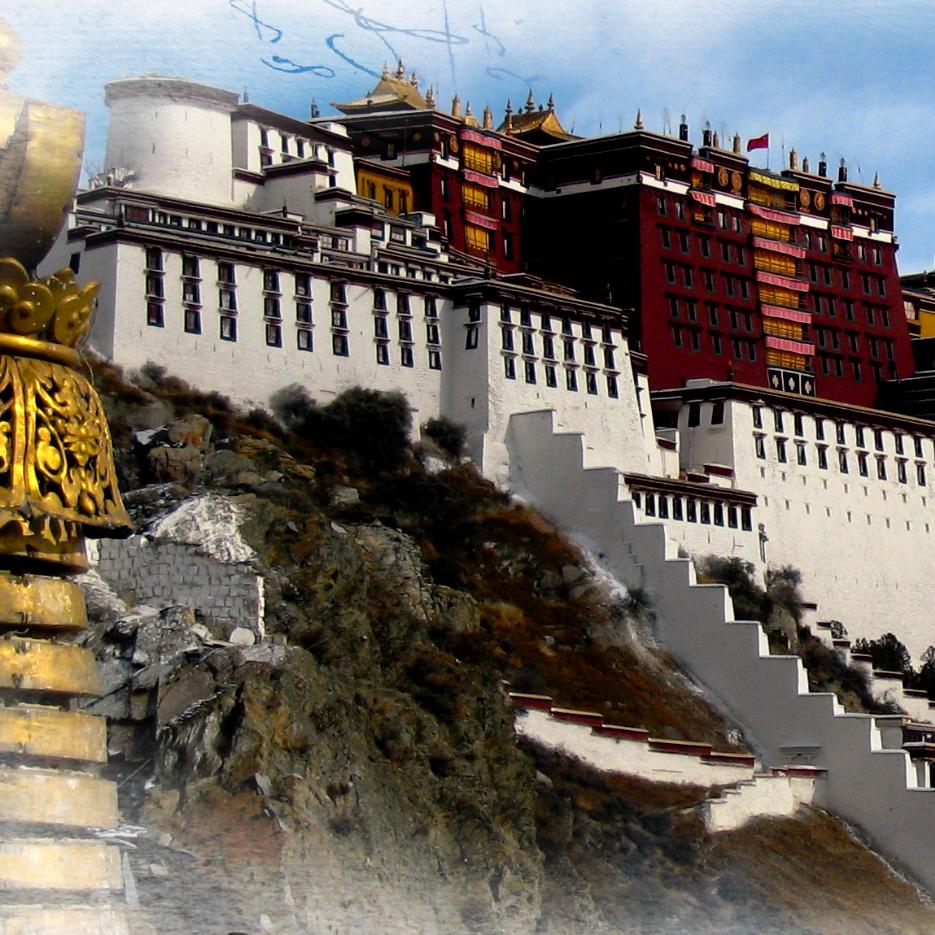 Photo Woeser Phel,  Road to Tibet Travel