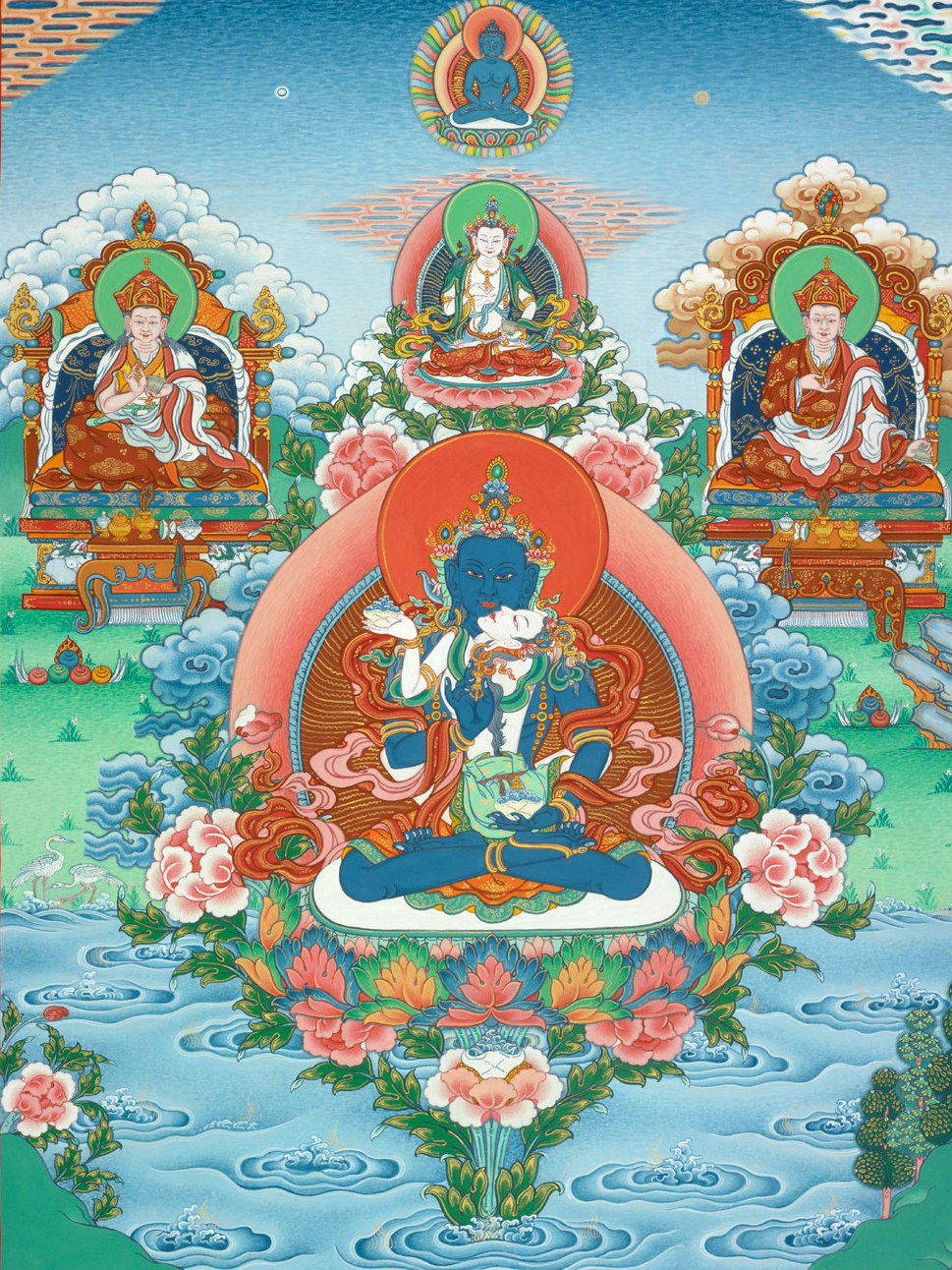 Dakini Heart Essence Refuge, Kumar Lama