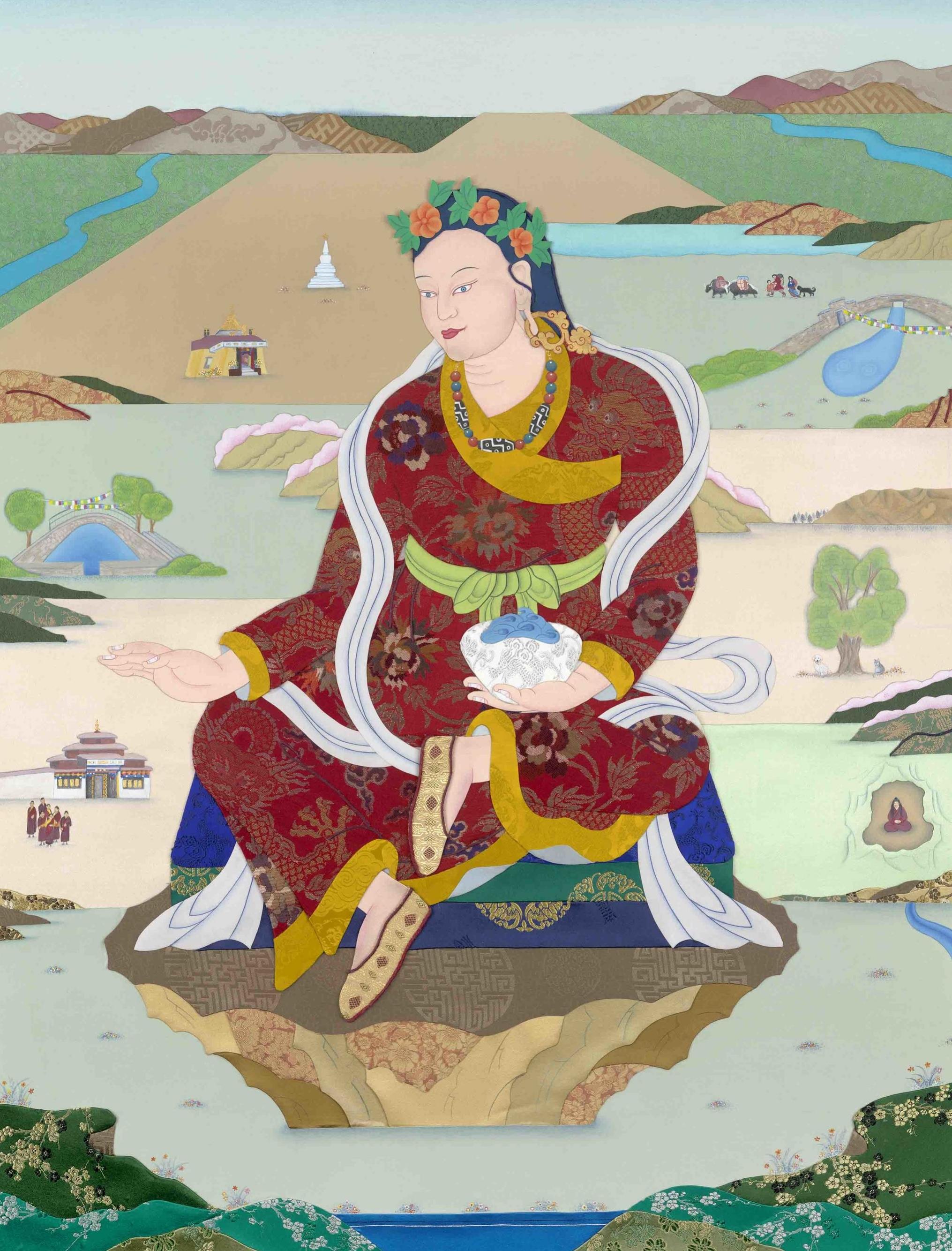 Nirmanakaya Yeshe Tsogyal, Leslie Nguyen-Temple