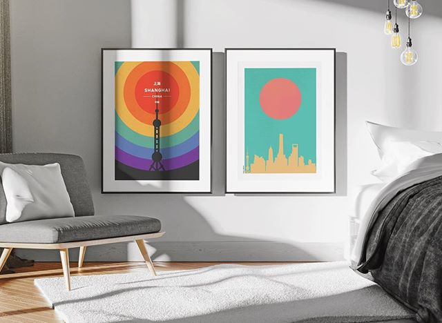 Just the color pop your Shanghai apartment needs - - - - #shanghai #shanghaimap #ffcmap #jinganmap #tonikprints #shanghaidesign #shanghaigift #mapprint #graphicdesign #shanghaidecoration #homedecor #designchina #graphicdesign #formerfrenchconcession #jingan #shanghaiapartment