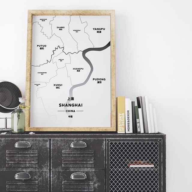 The Off-White Shanghai - - - - #shanghai #shanghaimap #ffcmap #jinganmap #tonikprints #shanghaidesign #shanghaigift #mapprint #graphicdesign #shanghaidecoration #homedecor #designchina #graphicdesign #formerfrenchconcession #jingan #shanghaiapartment
